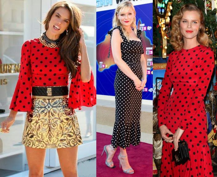 Dolce-and-gabbana-ss14-polka-dots-three-ways