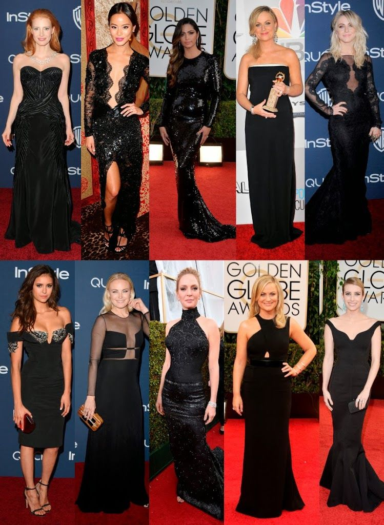 Woman-in-black-golden-globes-2014