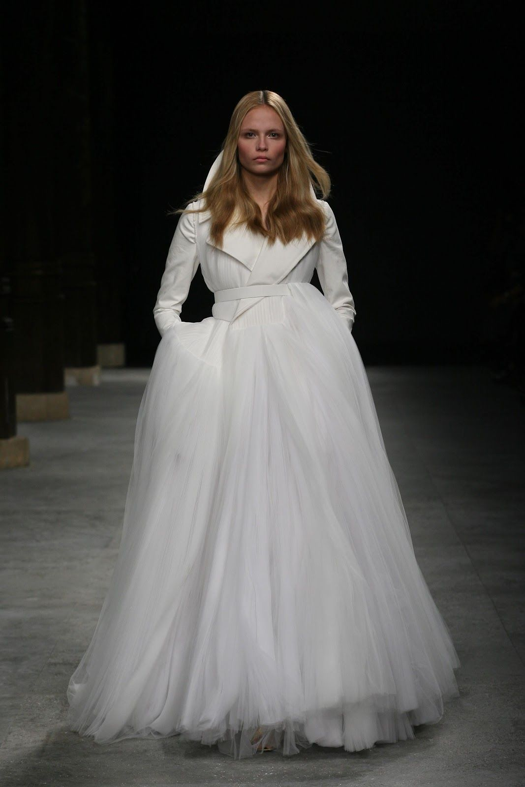 Here are 5 possible givenchy wedding gowns for kim kardashian givenchy haute couture spring summer 2008 499jpg junglespirit Choice Image
