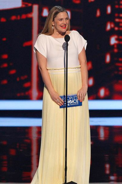 But wait: it was Drew Barrymore who started all this by wearing Vionnet SS14 at People's Choice Awards