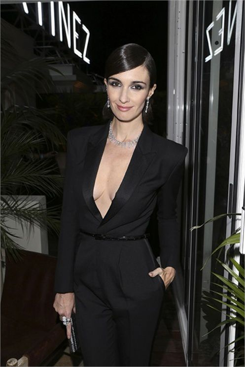 paz-vega-saint-laurent-jumpsuit-cannes-chopard-trophy