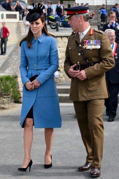 FRANCE-WWII-DDAY-BRITAIN-ROYALS