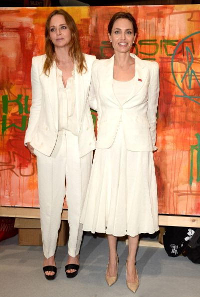 Angelina Jolie & Stella McCartney Launch War Child's 'Draw Me TO Safety' Campaign