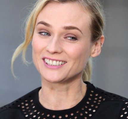 EXTRA Interviews Diane Kruger And Demian Bichir At Westfield Century City