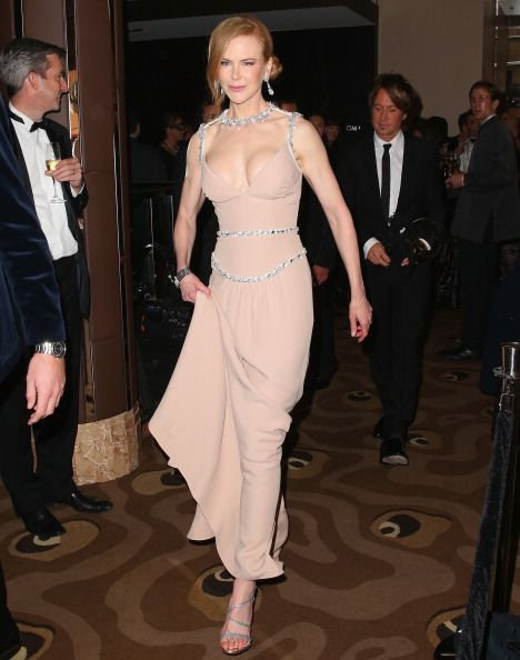 Nicole Kidman Attends The Celebrate Life Ball In Melbourne