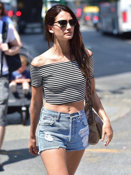 Lily Aldridge sighting in New York