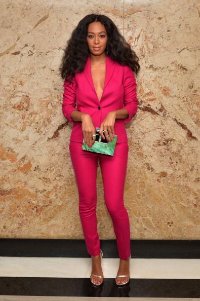 Gorgeous Solange Knowles in Gucci