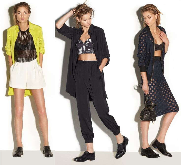 MILLY has it all right! With shorts, tracksuit pants or pencil skirts!