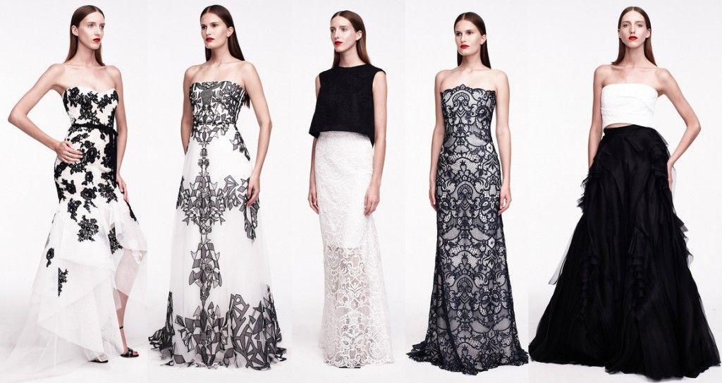 Monique_Lhuillier_Resort2015-black-and-white-dresses