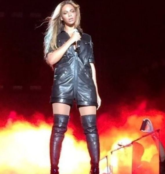 Bey wearing Givenchy