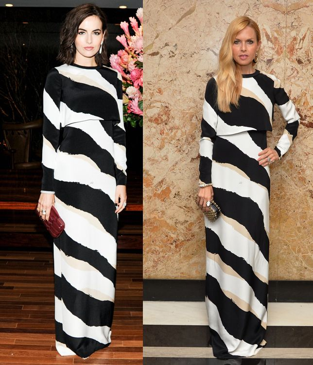camilla-belle-vs-rachel-zoe-in-gucci-prefall-2014-maxi-dress