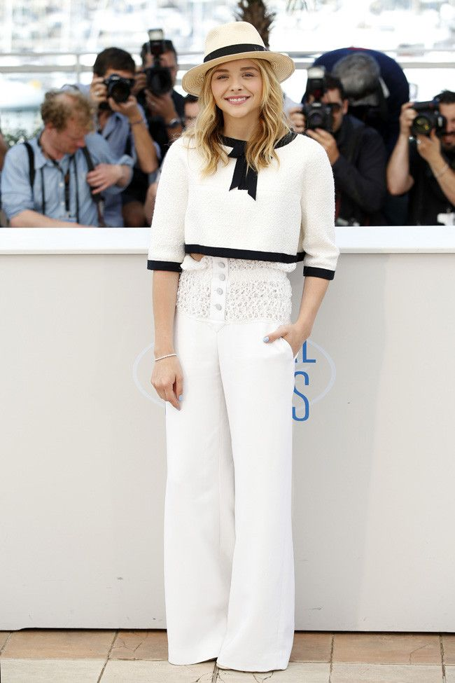 And remember Chloe Moretz in Chanel?