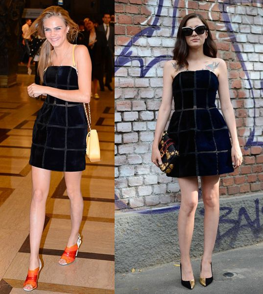 fendi-fall-2013-strapless-dress-cara-delevingne-or-eleonora-carisi