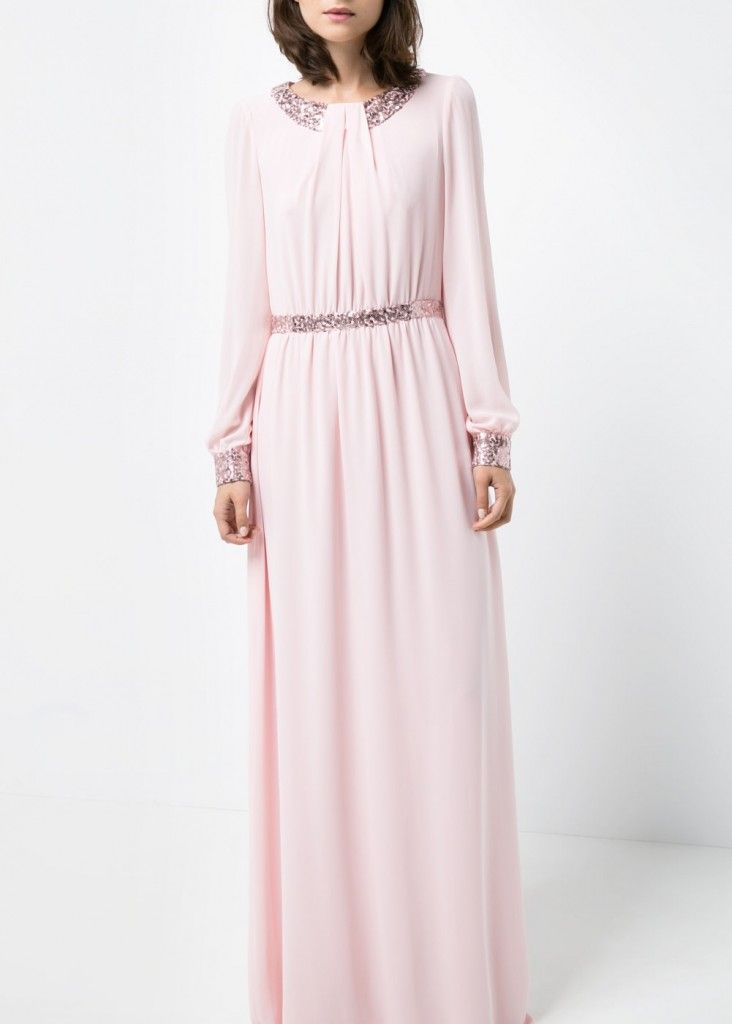 mango-pink-blush-sequined-gown