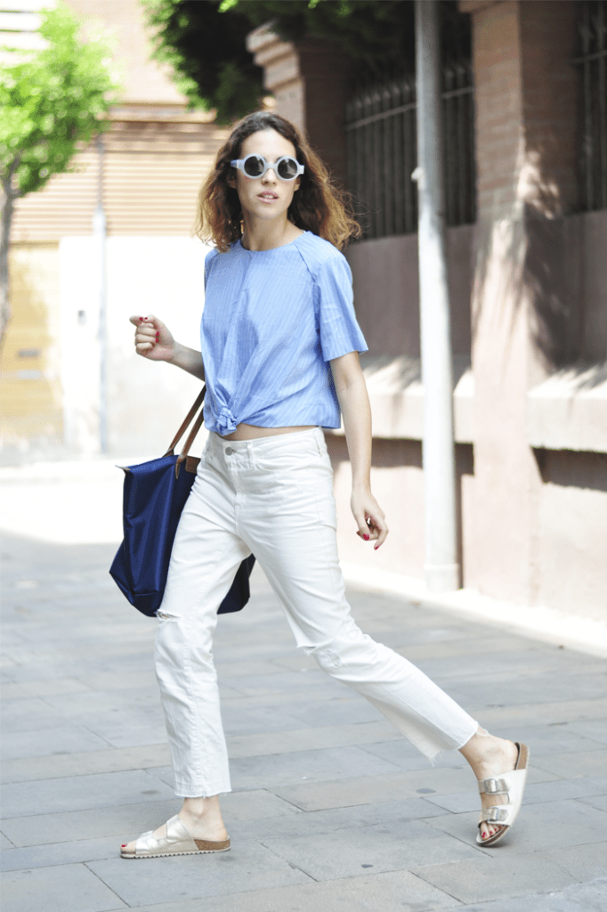 Saray of Dans Vogue and How to style your Birkenstocks (part II)