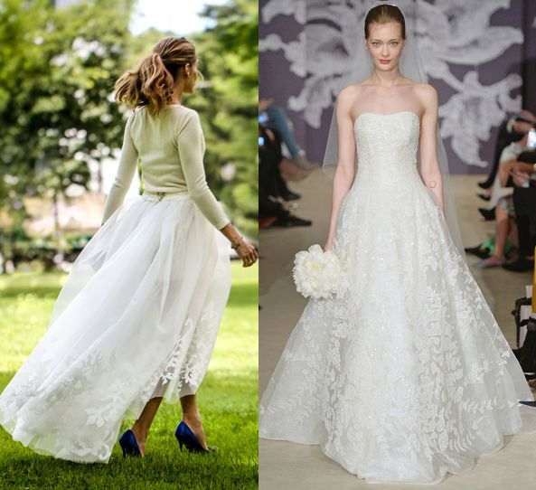 olivia-palermo-wedding-gown-inspired-by-carolina-herrera-bridal-collection-2015