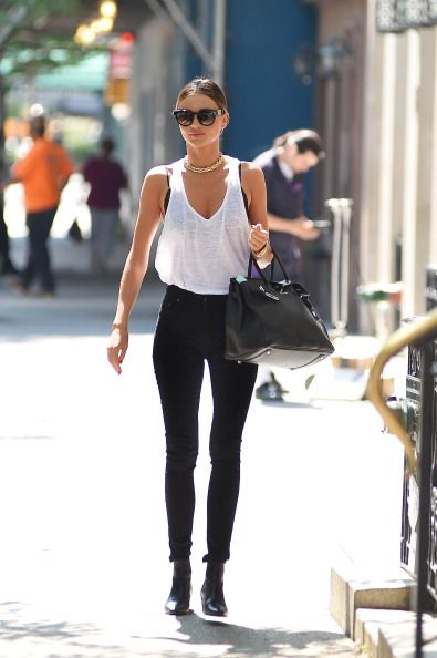 Celebrity Sightings In New York City - July 7, 2014