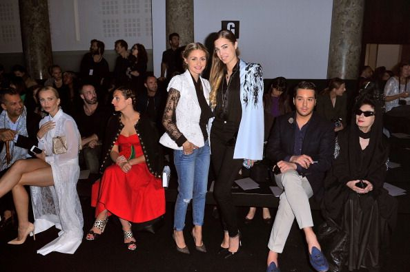 Ralph & Russo : Front Row - Paris Fashion Week : Haute-Couture Fall/Winter 2014-2015