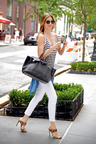 Celebrity Sightings In New York City - July 19, 2014