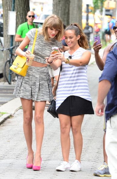 Celebrity Sightings In New York City - July 24, 2014