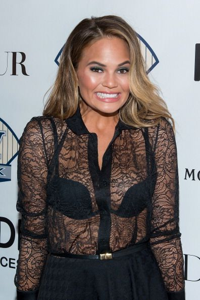 Jason Binn, Raul Adorno And David Cone Celebrate DuJour Cover Star Chrissy Teigen