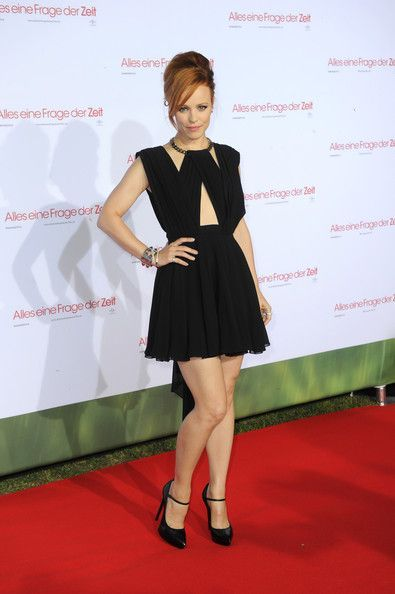 "Rachel McAdams in Saint Laurent at the ""About Time"" Screening in Munich"