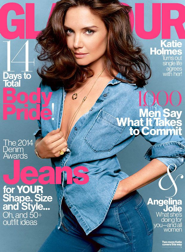 Katie-Holmes-Glamour-US-august-2014-cover