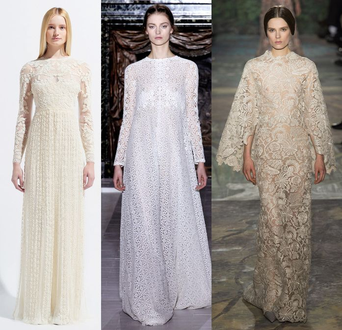 model sara blomqvist valentino wedding gowns were gorgeous