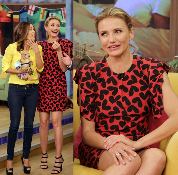 "Celebrities On The Set Of Univision's ""Despierta America"""