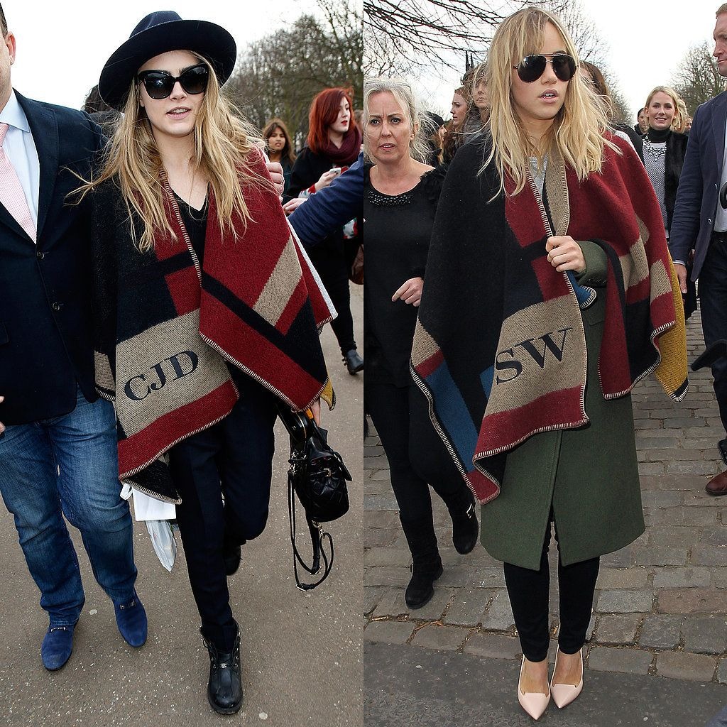 Olivia, Cara and Suki have theirs monogrammed