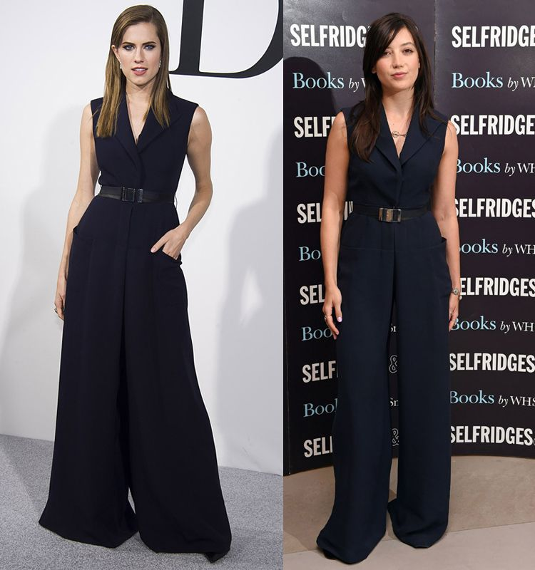 dior-blue-navy-wide-leg-jumpsuit-allison-williams-daisy-lowe
