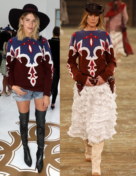 Elena Perminova in Chanel Pre-Fall 2014