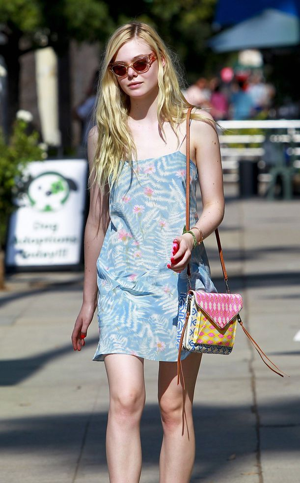 Elle Fanning is a mix-up queen
