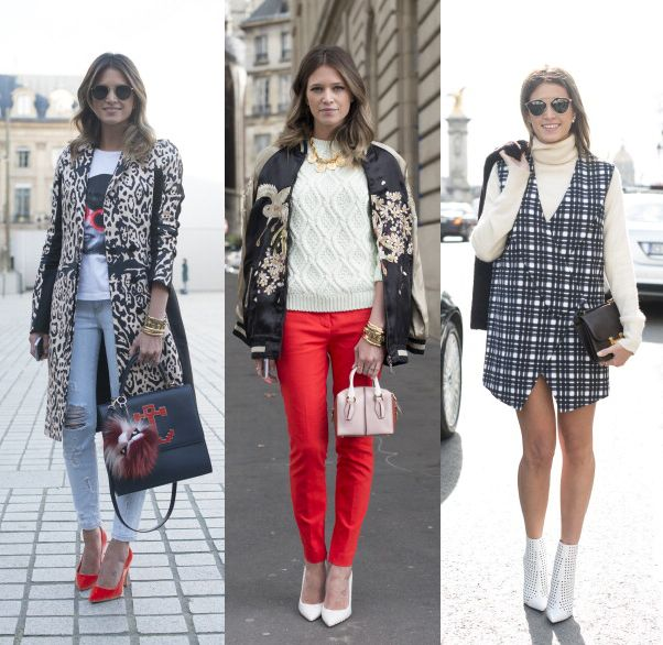 Street Style - Day 2 : Paris Fashion Week - Womenswear Fall/Winter 2014-2015