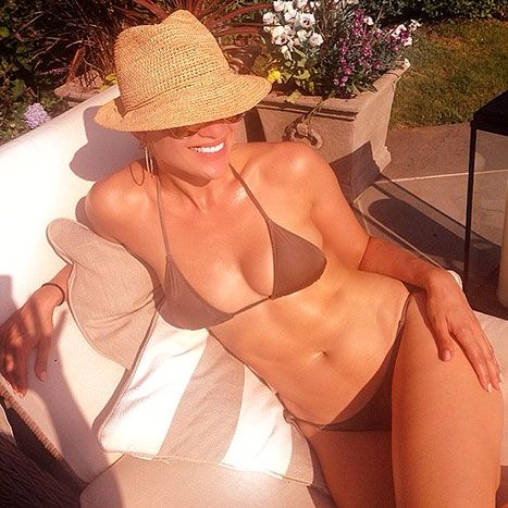Jennifer Lopez in The Hamptons