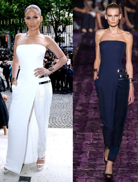 Versace : Outside Arrivals - Paris Fashion Week : Haute-Couture Fall/Winter 2014-2015