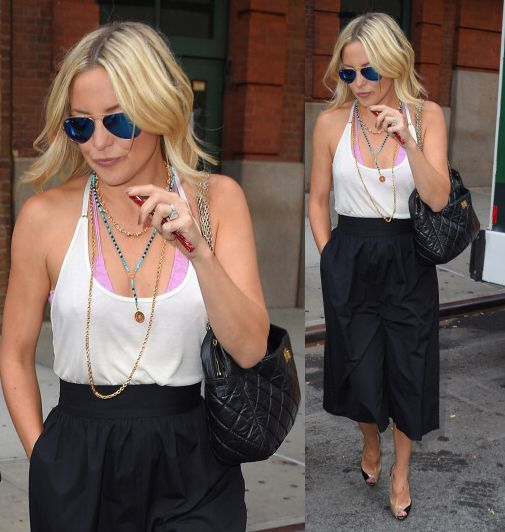 BuzzFoto Celebrity Sightings In New York -July 22, 2014
