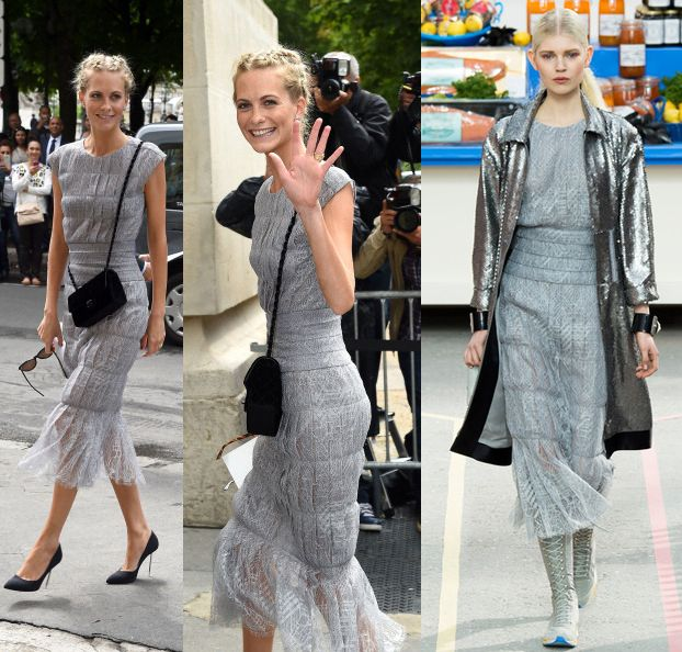 Celebrity Sightings At Paris Fashion Week : Haute Couture F/W 2014-2015 : July 8th