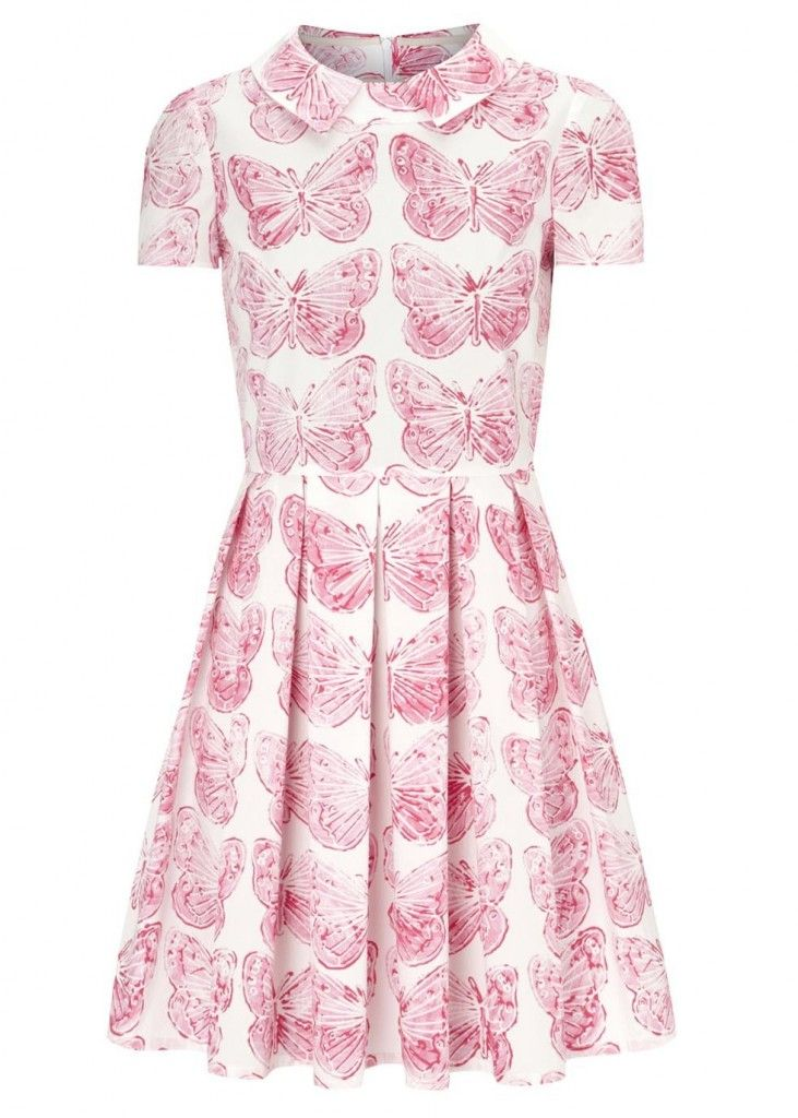 red-valentino-pink-pink-and-white-butterfly-print-cotton-dress
