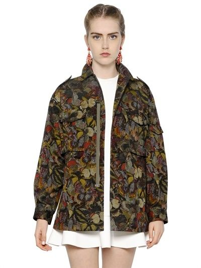 valentino-butterfly-print-cotton-parka-jacket