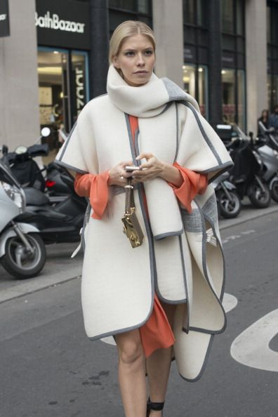 Street Style On January, 21 - Paris Fashion Week Haute Couture S/S 2014