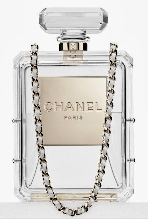 Chanel Cruise 14 perfume bottle bag