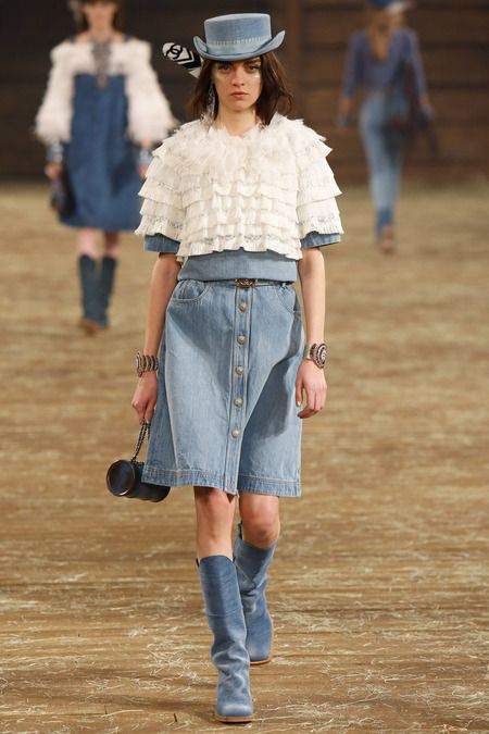 Under a top (Chanel Pre-Fall 2014)