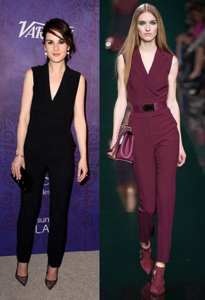 Michelle Dockery in Elie Saab FW14