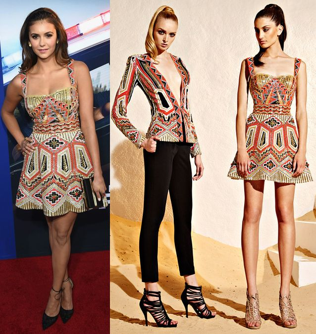 nina-dobrev-zuhair-murad-lets-be-cops-premiere-hollywood