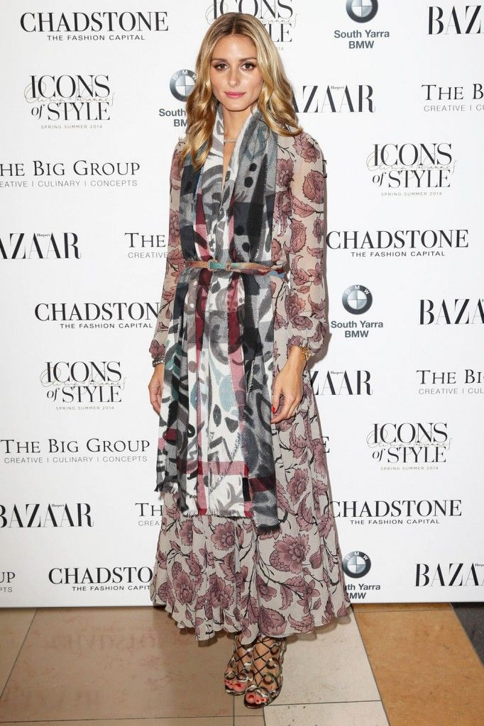 olivia-palermo-burberry-ss14-dress