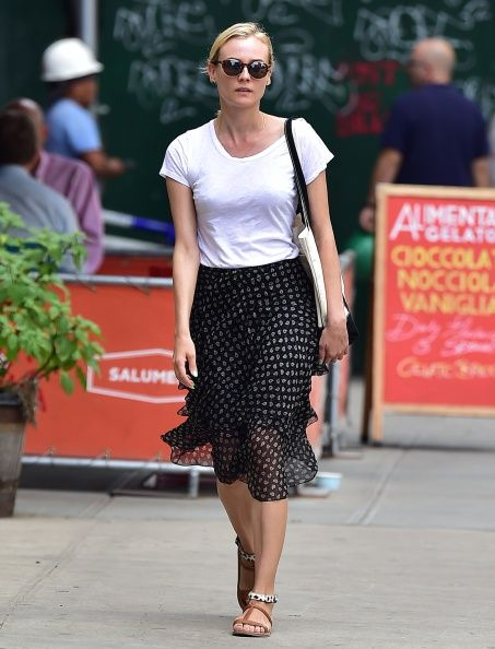 Celebrity Sightings In New York City - August 19, 2014
