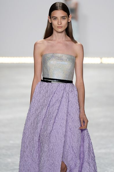 Monique Lhuillier - Runway RTW - Spring 2015 - New York Fashion Week