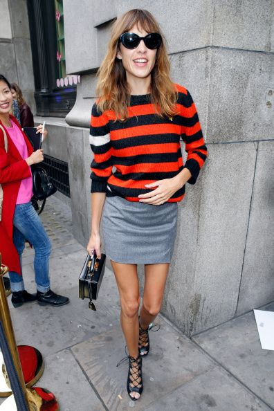 Celebrity Sightings On Day 1 At London Fashion Week SS15 - SEPTEMBER 13, 2014