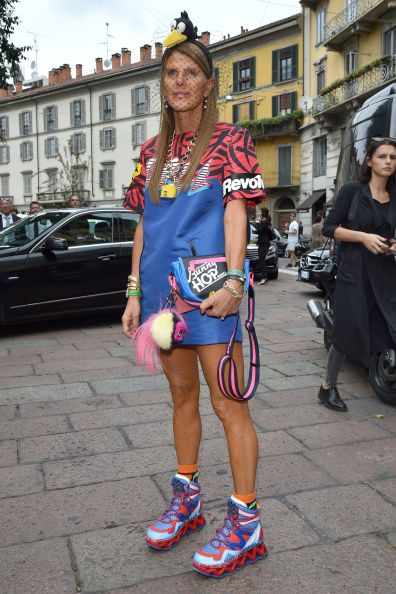 Gucci - Arrivals - Milan Fashion Week Womenswear Spring/Summer 2015